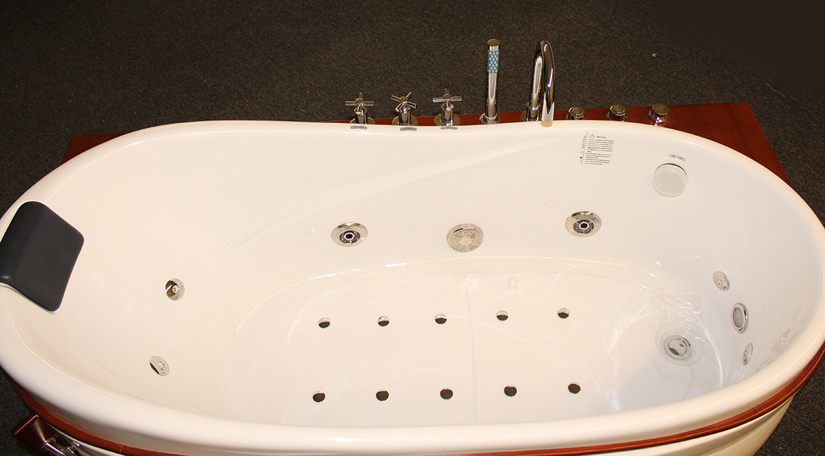 Deluxe Hydromassage Bubble bath M1780-R - BEST for BATH