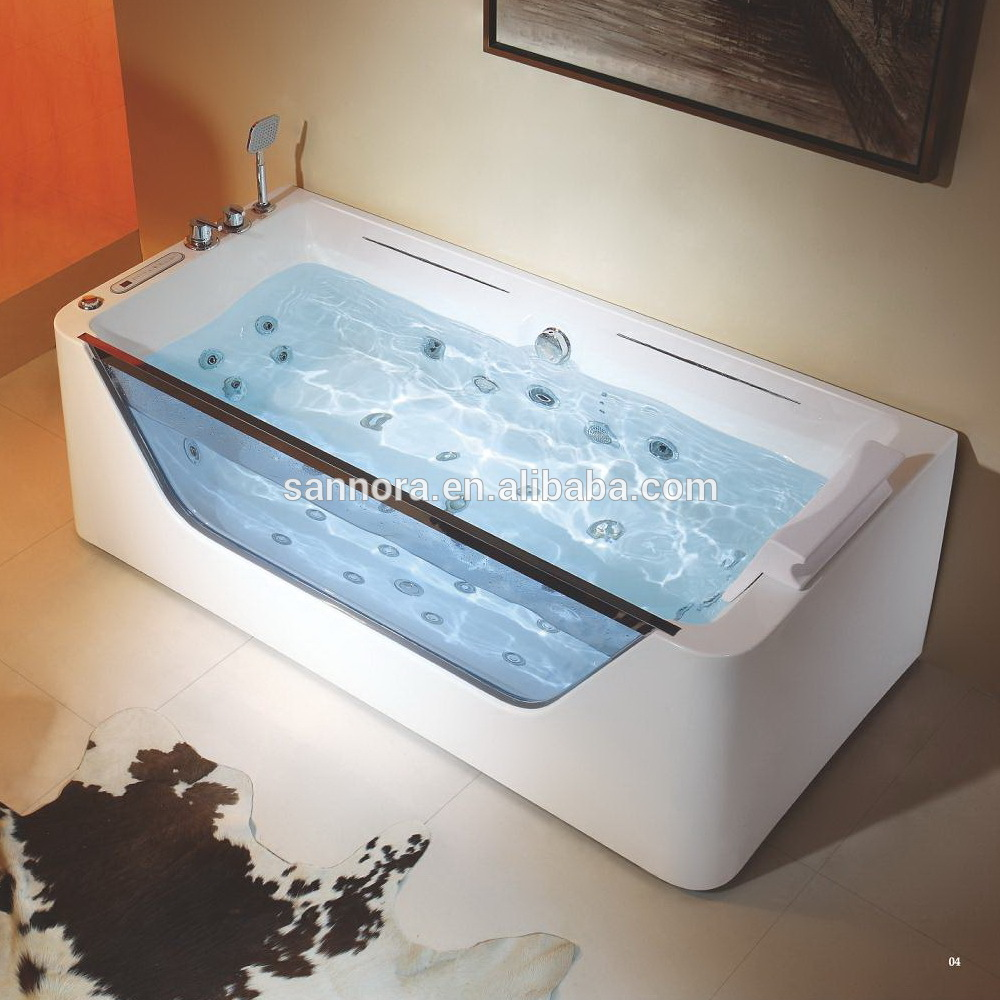 JETTED BATHTUB ,Whirlpool & Air Massage, waterfall ,Heater. M1777 ...