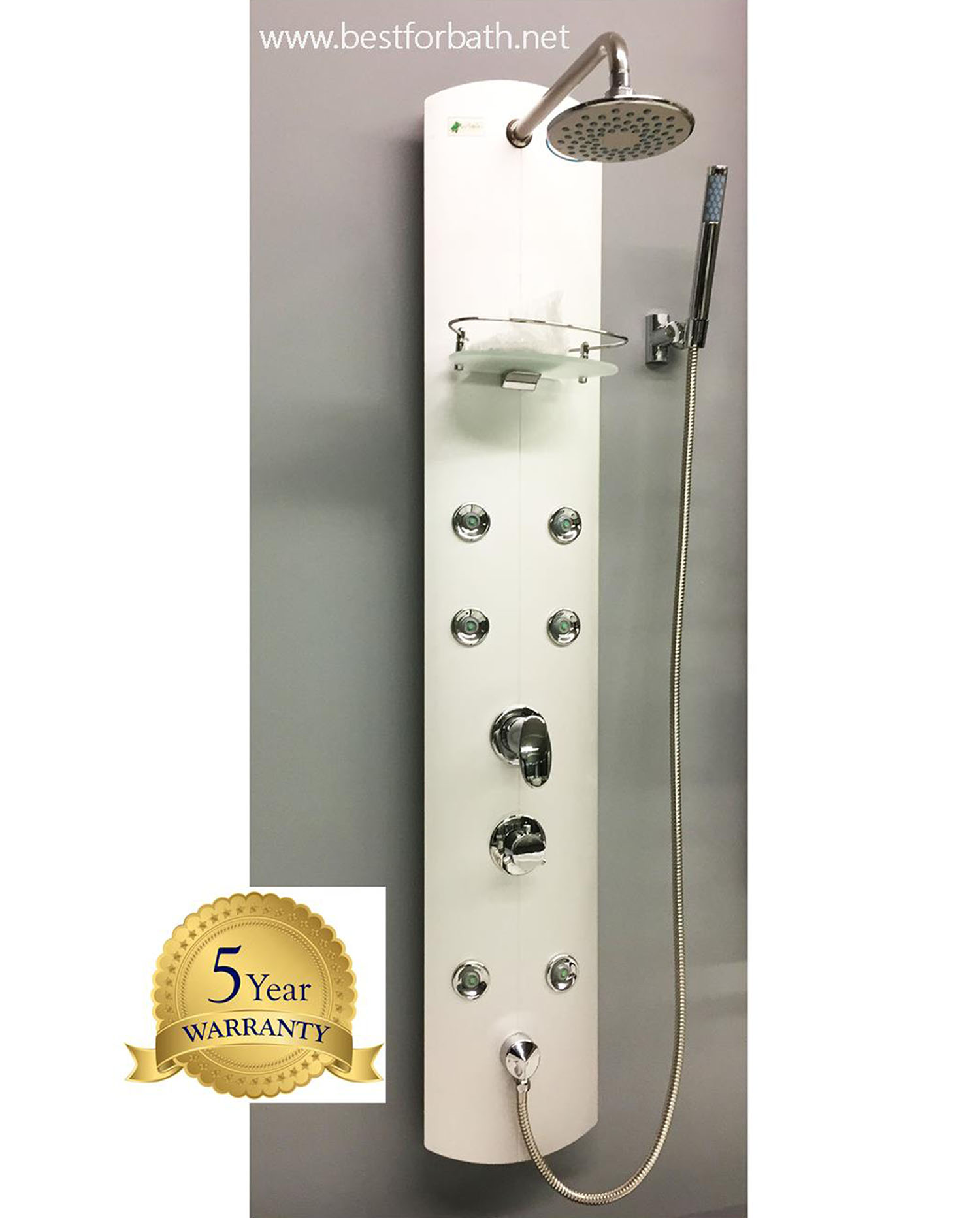 aluminum shower panel model p010 best for bath. Black Bedroom Furniture Sets. Home Design Ideas