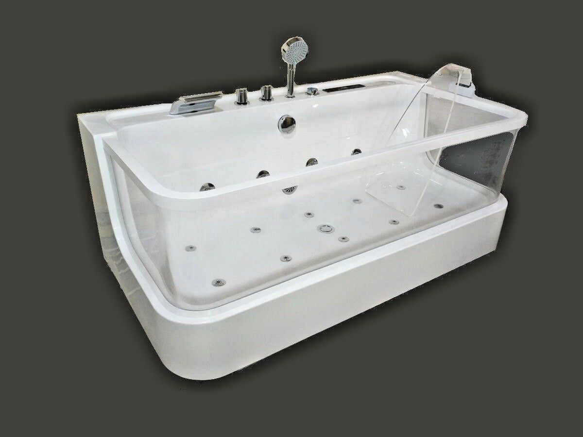 Jetted Bathtub Hydromassage Whirlpool Air Bubble