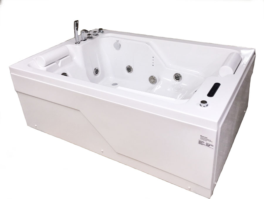 2 person whirlpool tub with heater. 2 PERSON Deluxe Computerized Big Whirlpool w Heater M1812D  Image 1 BEST