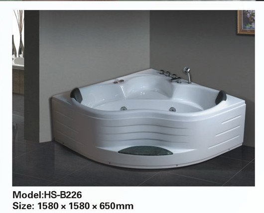 corner jetted bathtub for 2 person b226 sale best for bath