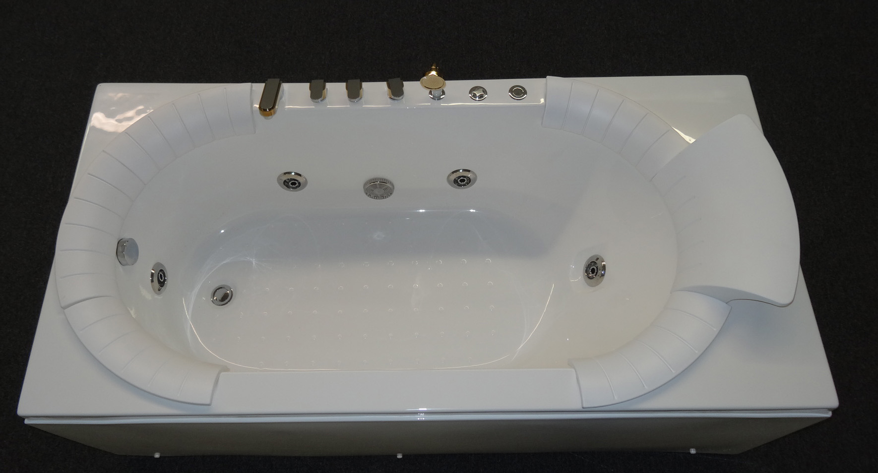 Modern Whirlpool Jetted Bathtub B312 Best For Bath