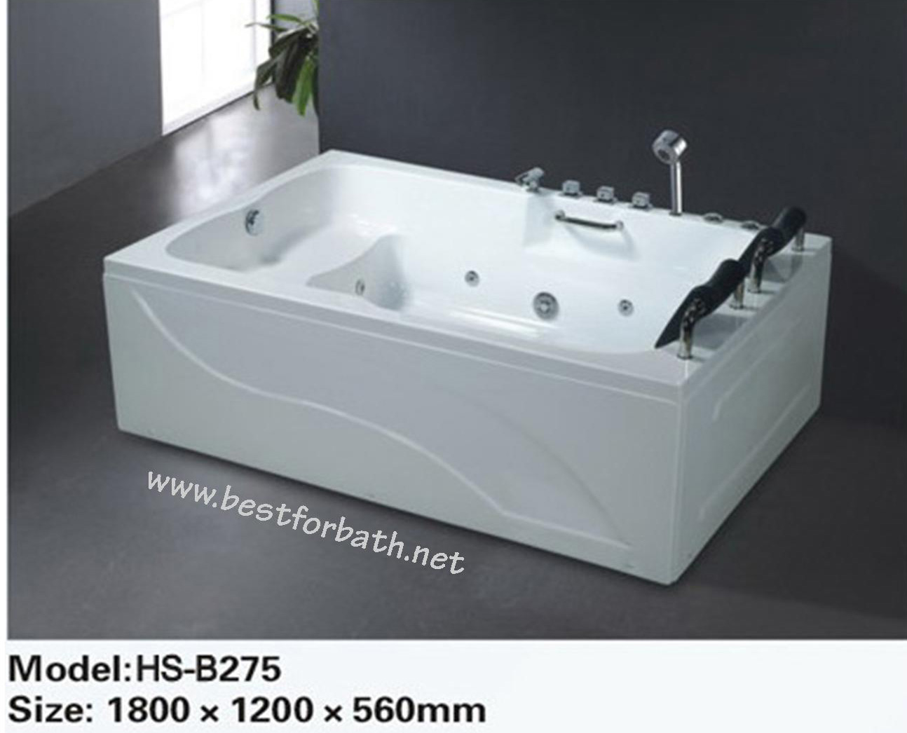 2 person deluxe computerized whirlpool jetted bathtubs for Whirlpool tubs on sale