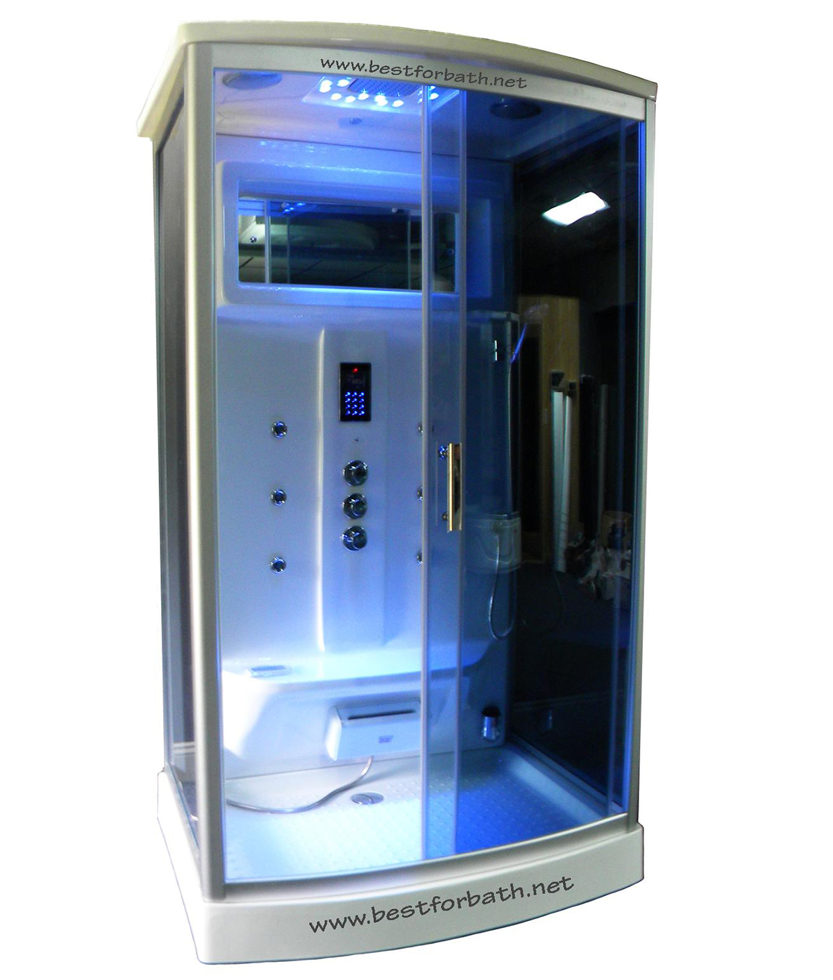 Steam Shower Room #09007.With Aromatherapy.Ozone,Termostatic .2 Days SALE