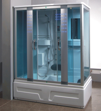 Steam Shower Room With Whirlpool Tub.BLUETOOTH. 8007   Image 1
