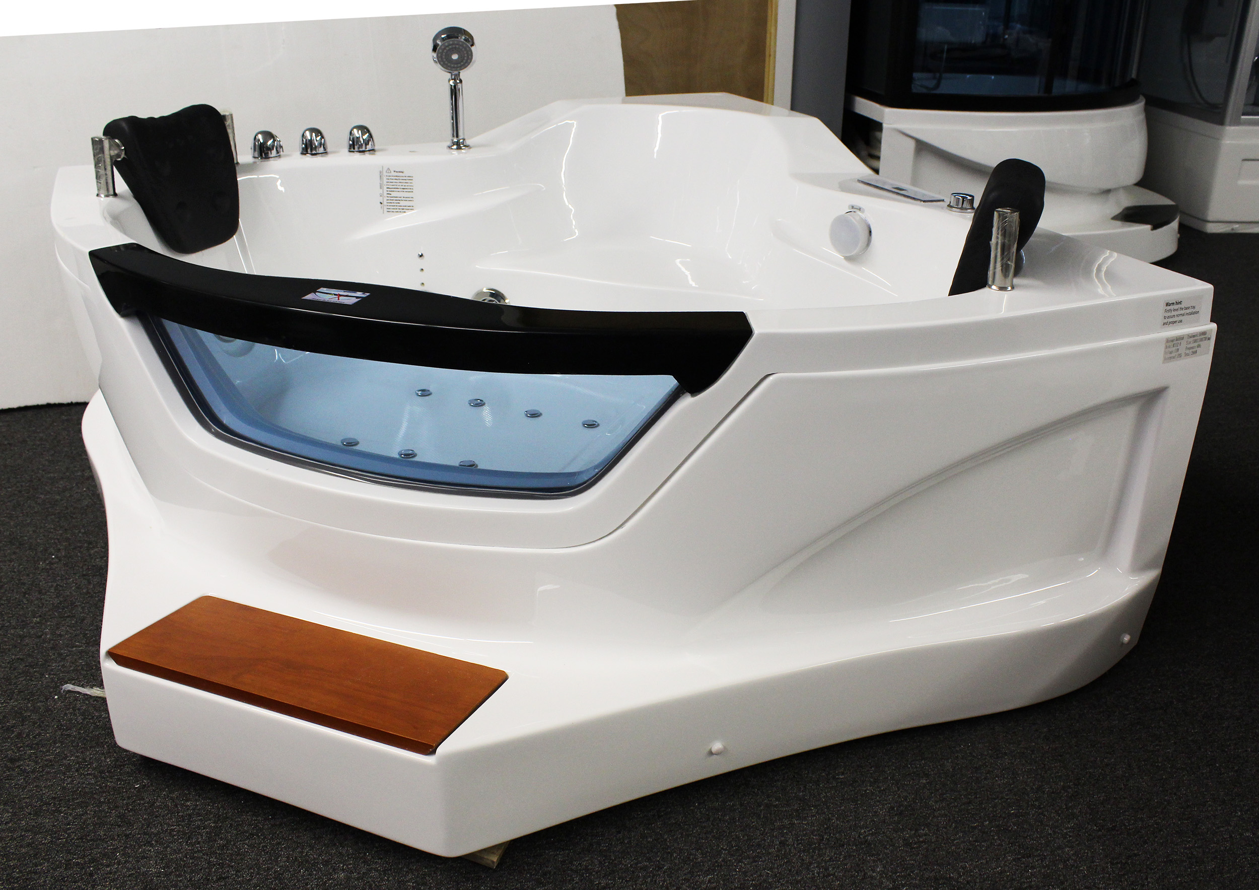 2 Person Jetted Bathtub W Air Bubble M3152 Best For Bath