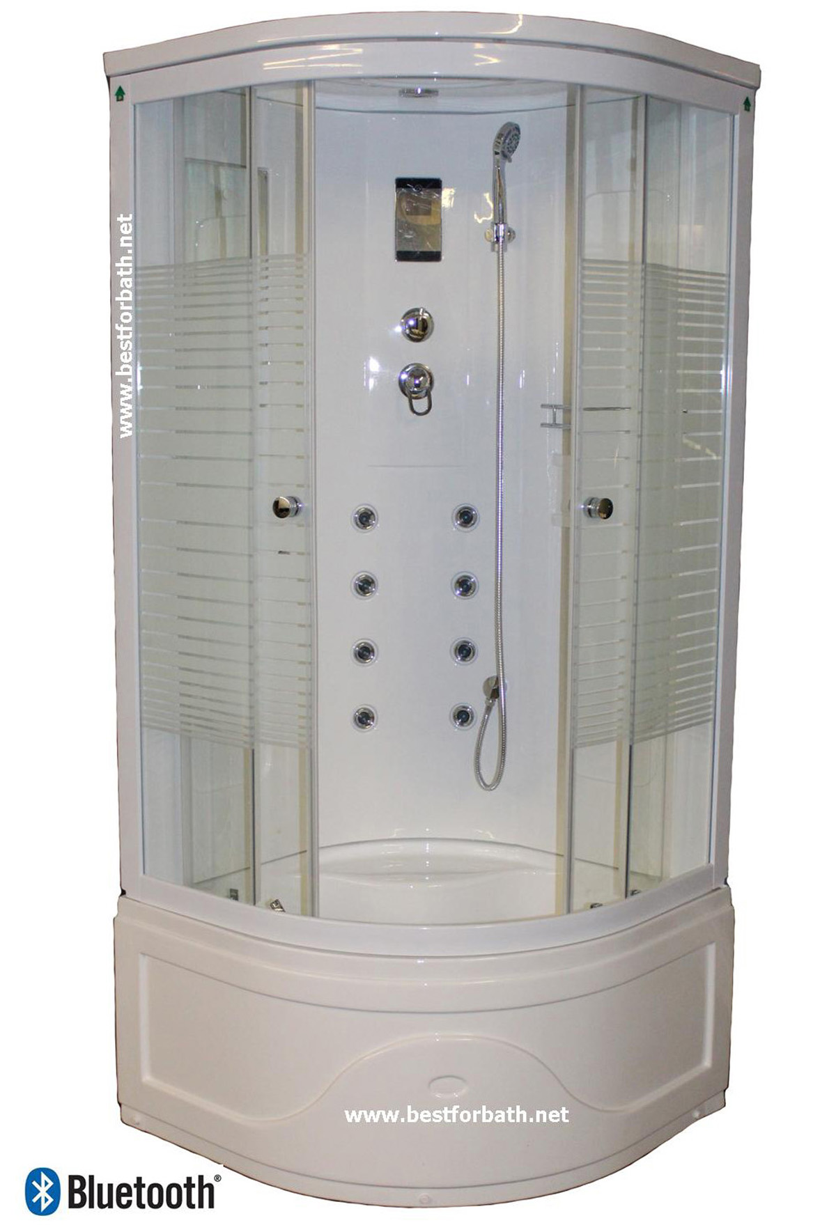 Shower Cabin.Hydrotherapy,Bluetooth Audio. 8128 - Image 1