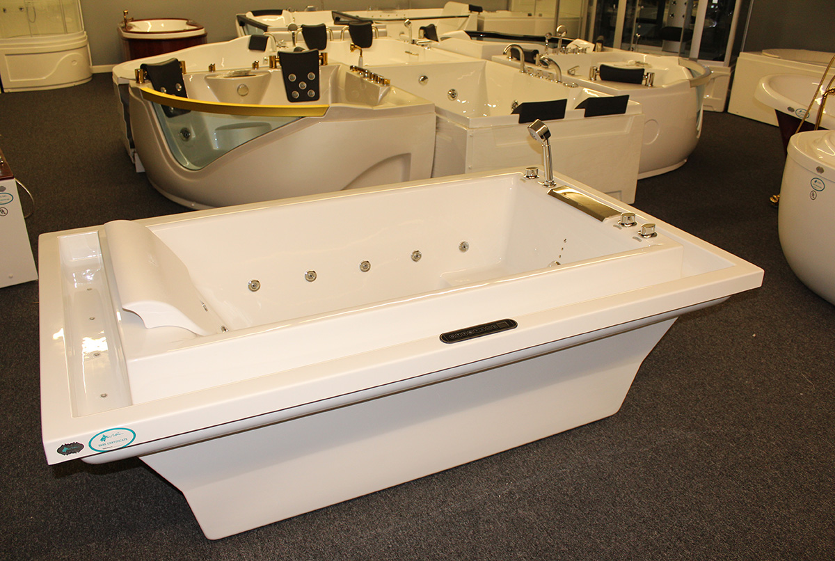 deluxe hydromassage jetted bathtub whirlpool m1910 d best for bath