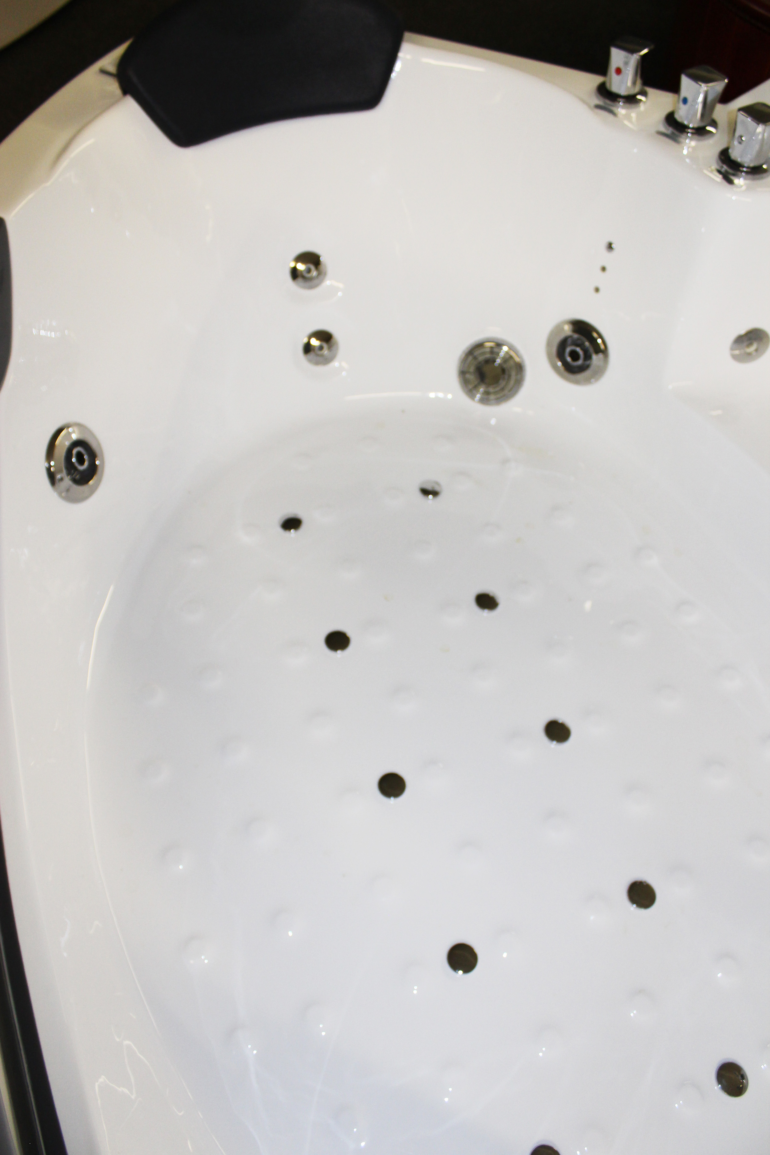 Corner JETTED BATHTUB,Hydromassage,Whirlpool,Air Bubble. M3150D ...
