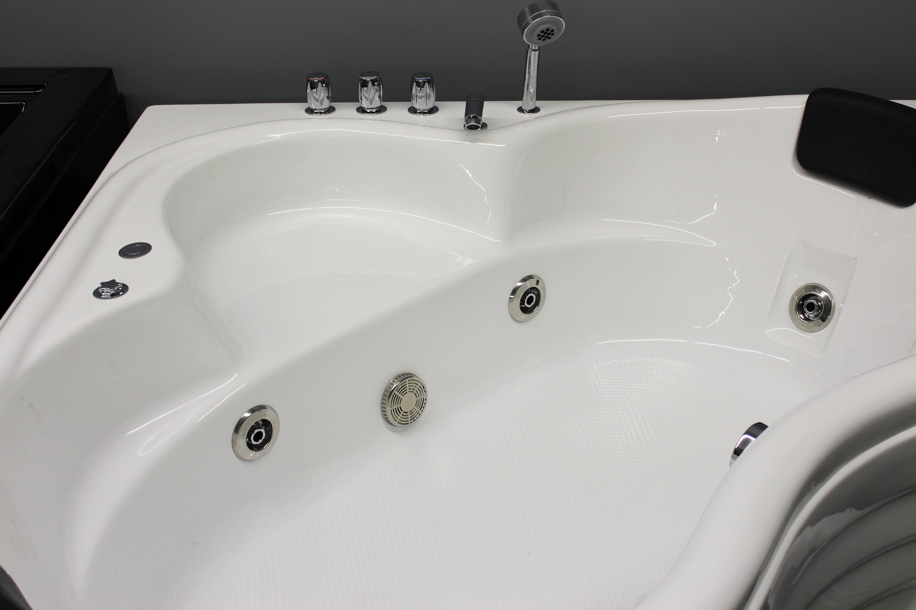 corner jetted tub 2 person. Image 8 Corner JETTED BATHTUB for 2 PERSON B226  SALE BEST BATH