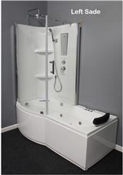 Shower Room with Deluxe Whirlpool Tub . 9045 Lux with air bubbles - Image 14