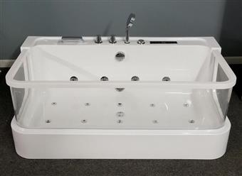 JETTED BATHTUB Hydromassage,Whirlpool,Air Bubble & waterfall,Heater. US Warranty 0450 - Image 3