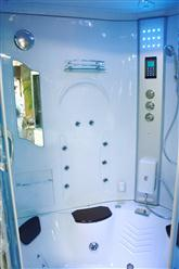 Big Steam Shower Room .Whirlpool tub w/Heater (1500W),Jacuzzi, Bluetooth Audio. 9011 - Image 7