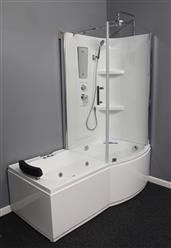 Shower Room with Deluxe Whirlpool Tub . 9045 Lux with air bubbles - Image 8