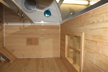 Steam Shower Enclosure with Traditional Sauna 	B001  - Image 16