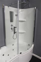 Shower Room with Deluxe Whirlpool Tub . 9045 Lux with air bubbles - Image 12