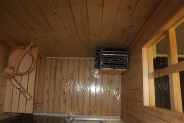 Steam Shower Enclosure with Traditional Sauna 	B001  - Image 12