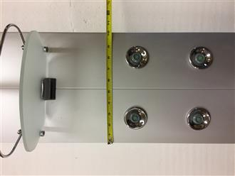Aluminum Shower Panel .Model P010. - Image 5