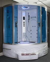 Big Steam Shower Room .Whirlpool tub w/Heater (1500W),Jacuzzi, Bluetooth Audio. 9011 - Image 2
