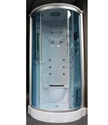 Steam Shower Room Enclosure w/Massage Jets.Termostatic.BLUETOOTH. 9016. - Image 1