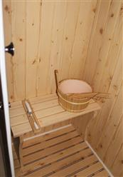 Steam Shower Enclosure with Traditional Sauna 	B001  - Image 6