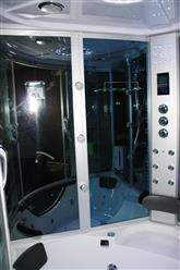 Big Steam Shower Room w / Whirlpool tub,Jacuzzi.Heater.Thermostatic, Bluetooth Audio .9042 - Image 6
