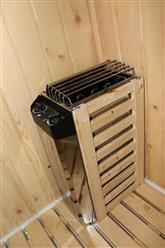 Steam Shower Enclosure with Traditional Sauna 	B001  - Image 11
