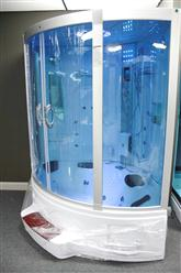 Big Steam Shower Room .Whirlpool tub w/Heater (1500W),Jacuzzi, Bluetooth Audio. 9011 - Image 4