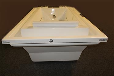 Deluxe Hydromassage JETTED BATHTUB.Whirlpool .  M1910-D - Image 14