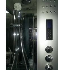 Steam Shower Room With deep Whirlpool.Termostatic. BLUETOOTH. 9004 - Image 3