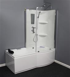 Shower Room with Deluxe Whirlpool Tub . 9045 Lux with air bubbles - Image 2