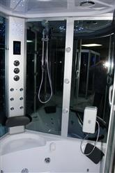 Big Steam Shower Room w / Whirlpool tub,Jacuzzi.Heater.Thermostatic, Bluetooth Audio .9042 - Image 5