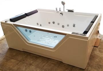 2 PERSON JETTED BATHTUB w/ Air Bubble. New Model 2019. C3099 - Image 8