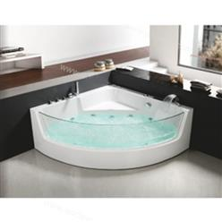 Corner JETTED BATHTUB ,Whirlpool & Air Bubble & Massage,Heater. C3131 - Image 1