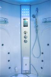 Big Steam Shower Room .Whirlpool tub w/Heater (1500W),Jacuzzi, Bluetooth Audio. 9011 - Image 6