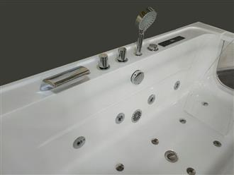 JETTED BATHTUB Hydromassage,Whirlpool,Air Bubble & waterfall,Heater. US Warranty 0450 - Image 4