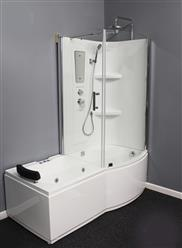 Shower Room with Deluxe Whirlpool Tub . 9045 Lux with air bubbles - Image 7