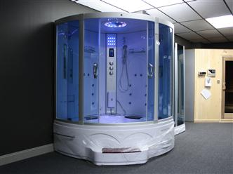Big Steam Shower Room .Whirlpool tub w/Heater (1500W),Jacuzzi, Bluetooth Audio. 9011 - Image 12