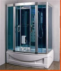Steam Shower Room With deep Whirlpool Tub.BLUETOOTH. 9001 HEAVY DUTY - Image 1