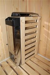 Steam Shower Enclosure with Traditional Sauna 	B001  - Image 13