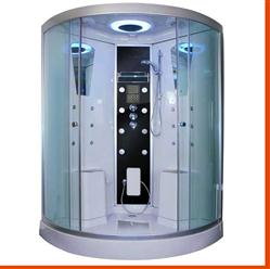 Large Two Person Steam Shower Room.Aromatherapy.Termostatic Bluetooth.  9026  - Image 1