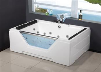 2 PERSON JETTED BATHTUB w/ Air Bubble. New Model 2019. C3099 - Image 1
