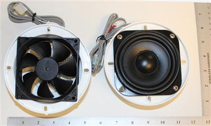 Shower cabin fan & speaker  - Image 2
