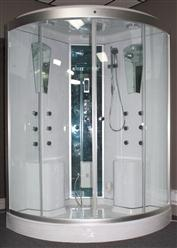 Large Two Person Steam Shower Room.Aromatherapy.Termostatic Bluetooth.  9026  - Image 5