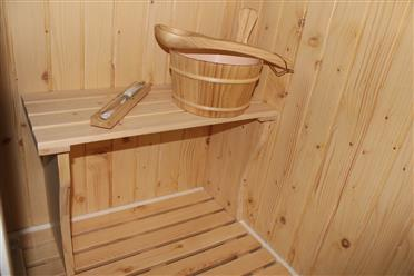 Steam Shower Enclosure with Traditional Sauna 	B001  - Image 10