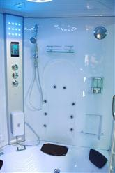 Big Steam Shower Room .Whirlpool tub w/Heater (1500W),Jacuzzi, Bluetooth Audio. 9011 - Image 8